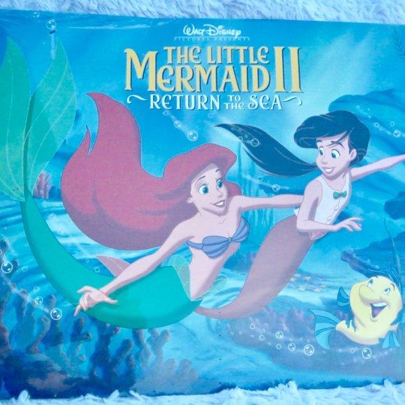 NEW Disney Little Mermaid II Lithograph Portfolio